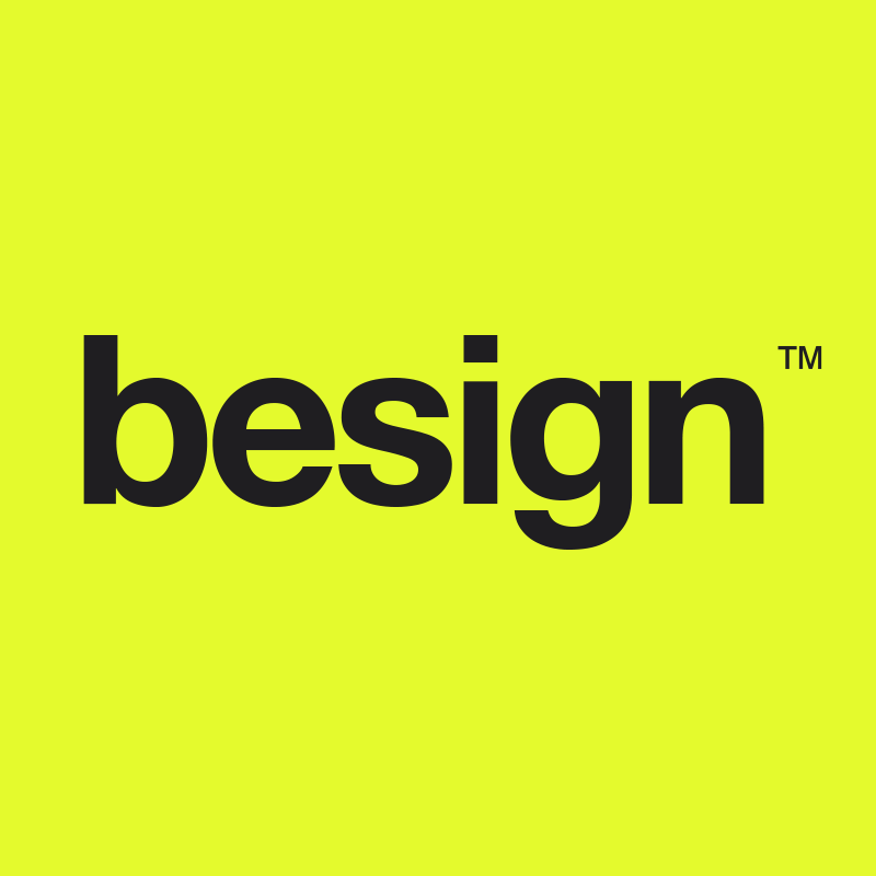 BESIGN naming + logo